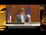 L'Ambassade des Etats-Unis d'Amérique en Haïti honore le dir. gnl. de la DINEPA, Mr. Bénito DUMAY.