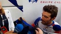 Thibaut Pinot au départ de la 6e étape du Tour de France