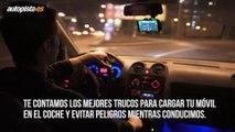 Por qué es peligroso cargar el móvil en el coche mientras conduces