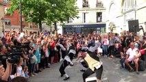 La danse de Rabbi Jacob de retour à Paris le temps d'un flashmob