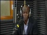 Jovenel MOISE, le candidat à la présidence participe à l'émission Dil Janl Ye, sur la Radio Ginen.