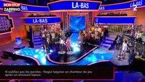 N'oubliez pas les paroles : Nagui taquine un chanteur du jeu après un amusant lapsus (vidéo)