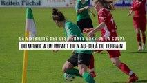 La visibilité des lesbiennes lors de la Coupe du monde a un impact bien au-delà du terrain
