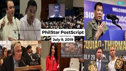 Postscript July 9, 2019