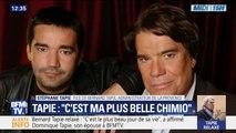 """""""C'est ma plus belle chimio."""" Le fils de Bernard Tapie raconte la réaction de son père au moment où il appris qu'il était relaxé"""