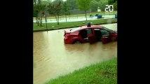 Inondations spectaculaires à Washington après des pluies torrentielles