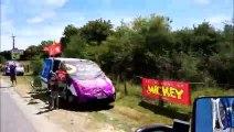 Tour de France : passage de la Caravane à Rancourt-sur-Ornain en Meuse