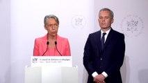 Élisabeth Borne annonce que le gouvernement va mettre en place une écotaxe de 1,50 à 18 euros sur les billets d'avion dès 2020