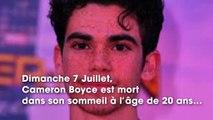 Mort de Cameron Boyce  son père inconsolable, sort du silence !