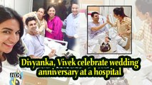 Divyanka, Vivek celebrate wedding anniversary at a hospital