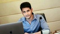 Mahesh Babu Latest movie new  Look(Telugu)
