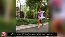 Cristiano Ronaldo travaille son sprint - Les joueurs de Montpellier se retrouvent