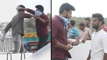 Ninu Veedani Needanu Nene Movie Fight Scene Making   Sundeep Kishan   Anya Singh    Filmibeat Telugu
