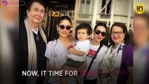 Fam Jam! Kareena Kapoor and Karisma Kapoor pose with parents in London