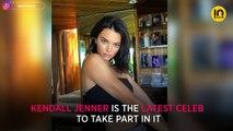 Bottle Cap Challenge: Kendall Jenner ups the game in a jet-ski