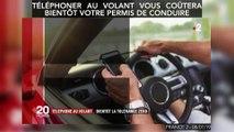 Téléphoner au volant vous coûtera bientôt votre permis de conduire
