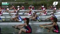 Championnat de France J16 Bateaux longs Libourne 2019 - Finale du huit barré femmes-J16F8+