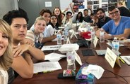 Riverdale cast pay tribute to Luke Perry at script reading