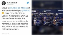 Les Jeunes avec Macron : La liste d'Ambroise Méjean l'emporte