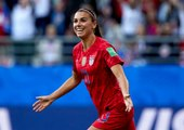 The portrait of Alex Morgan