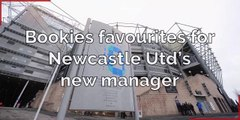 Football_Bookies Favourites for Newcastle Utd Manager