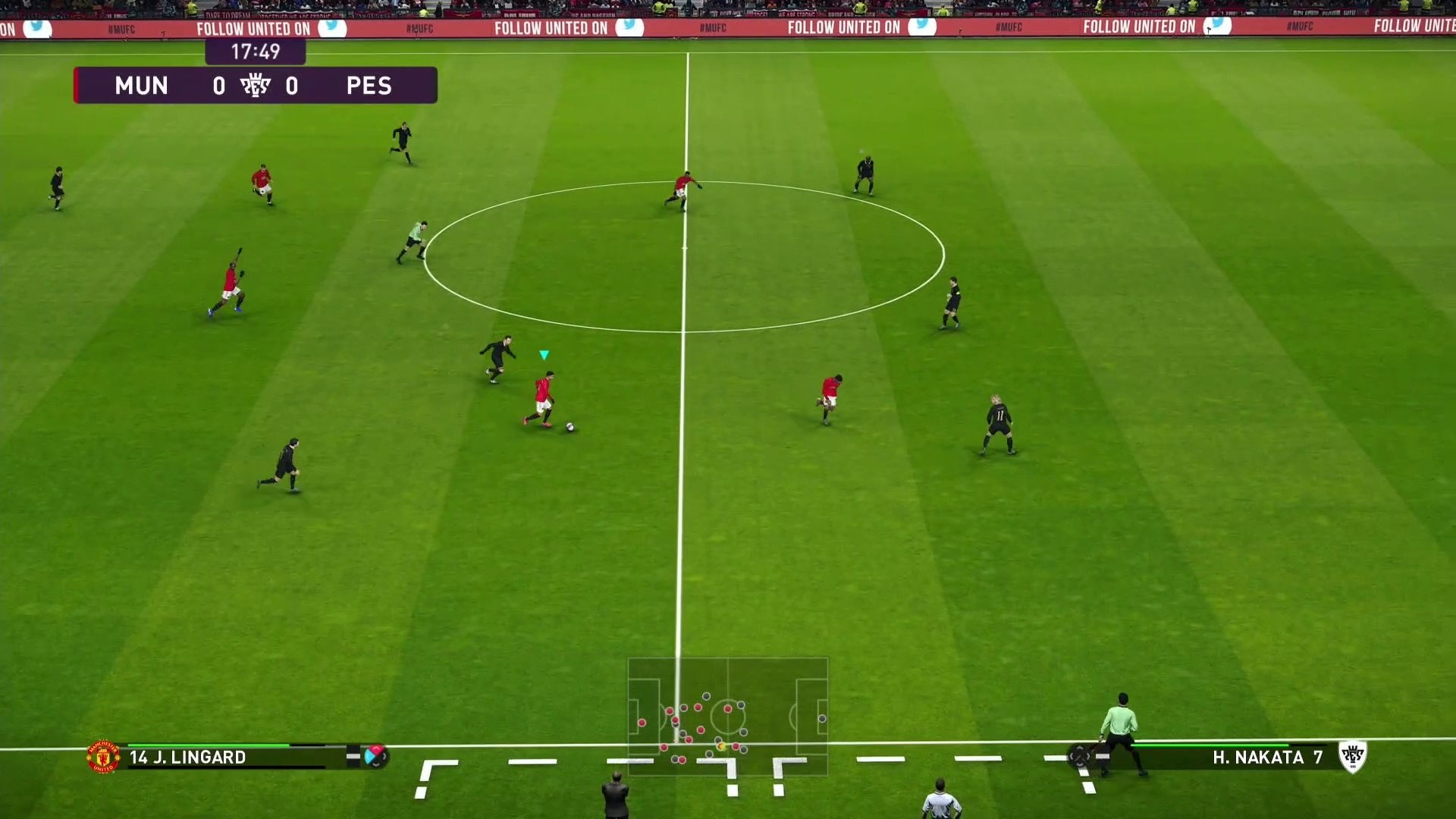 PES 19 Mobile Realistic Gameplay with English Commentary
