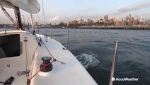 Weather's impact on summer sailing