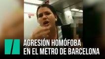 """""""¡Maricona te he dicho!"""" La agresión homófoba en el metro de Barcelona"""
