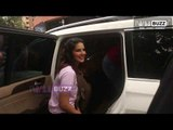 Gorgeous Sunny Leone looks hot in a casual pink T-Shirt