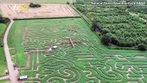 Tribute to Apollo 11's 50th Anniversary is Also an Incredible 3-Mile Maze