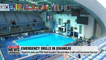 Emergency drills conducted in Gwangju to make sure FINA World Aquatics Championships is safer and more secure than ever
