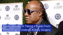 Stevie Wonder Is Getting Kidney Surgery