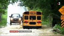 États-Unis : des pluies diluviennes se sont abattues sur Washington