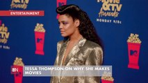 Why Tessa Thompson Is Committed To Movies