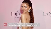Zendaya Honors The Late Cameron Boyce