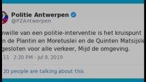 Des tirs ont eu lieu à Anvers ce mardi 9 juillet après-midi