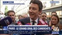 """Municipales à Paris: pour Benjamin Griveaux, son grand oral était """"un exercice important"""""""