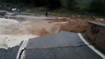 İspanya sağanak yağmur ve sele teslim oldu: 1 kişi boğularak öldü