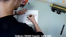 Dédicace TAKAKI Tsuyoshi  - auteur de Black Torch & Heart Gear