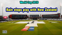 World Cup 2019 | Rain stops play with New Zealand on 211/5 in 46.1 overs