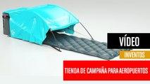 [CH] Mini tienda de campaña para dormir en el aeropuerto