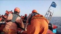 44 migrants secourus par le navire Alan Kurdi au large de la Libye