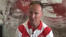 Justin Holbrook previews Saints - Wigan derby