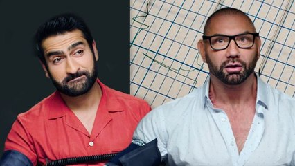 Dave Bautista and Kumail Nanjiani Take a Lie Detector Test