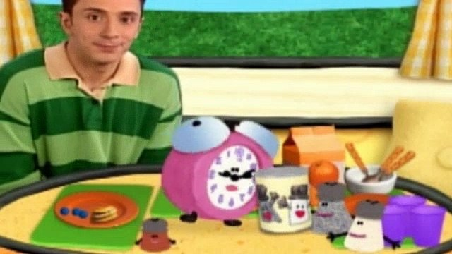 Blues Clues Season 4 Episode 9 - Mr  Salt And Mrs  Pepper Day