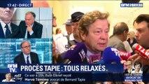 Affaire de l'arbitrage du Crédit lyonnais: Bernard Tapie relaxé (2/3)