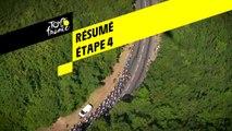 Résumé - Étape 4 - Tour de France 2019
