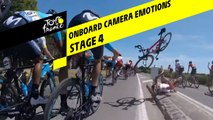 Onboard camera Emotions - Étape 4 / Stage 4 - Tour de France 2019