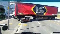 Ce camion déverse des milliers de bières dans un demi-tour raté !