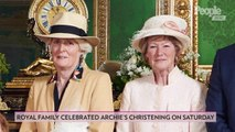 See Archie's Christening Portrait Side-by-Side with Prince Harry's 1984 Ceremony